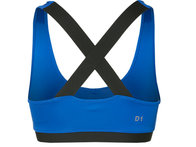 Back view of LOW SUPPORT BRA, ILLUSION BLUE