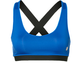 Front Top view of LOW SUPPORT BRA, ILLUSION BLUE