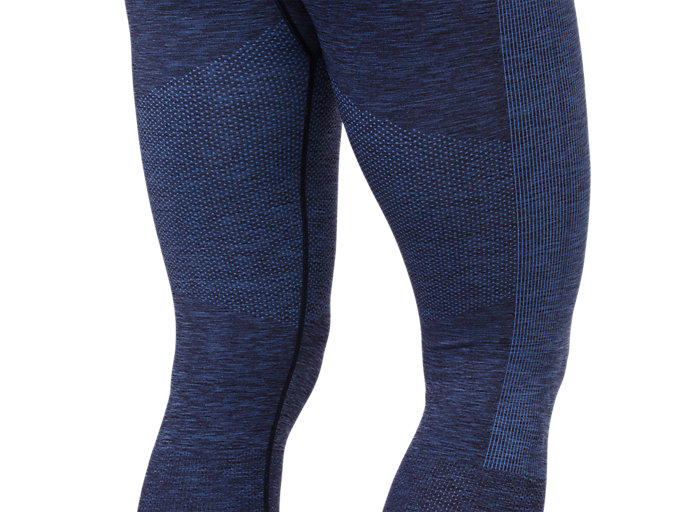 Alternative image view of SEAMLESS CROPPED TIGHT, PEACOAT HEATHER