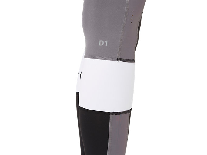 Alternative image view of COLOR BLOCK CROPPED TIGHT 2, PERFORMANCE BLACK