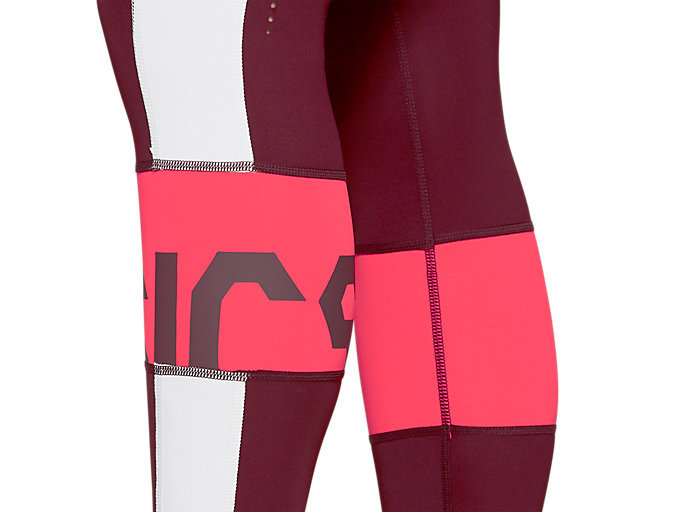 Alternative image view of COLOR BLOCK CROPPED TIGHT 2, DEEP MARS