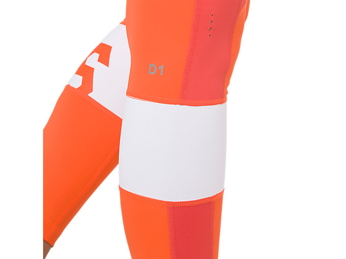 Alternative image view of COLOR BLOCK TIGHT 2, NOVA ORANGE