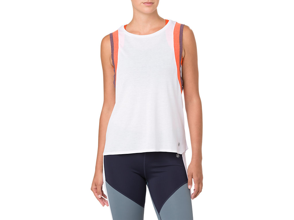 GEL COOL 2 TANK | Women | BRILLIANT WHITENOVA ORANGE
