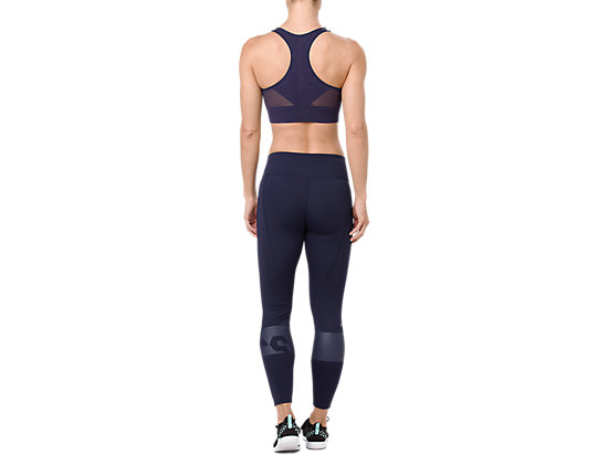 FLEX SEAMLESS BRA PEACOAT HEATHER