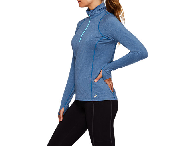 Side view of THERMOPOLIS Half Zip Top