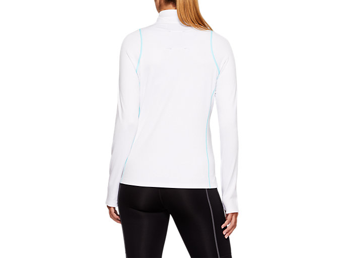 Back view of THERMOPOLIS Winter Half Zip