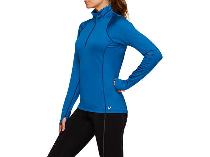 Side view of THERMOPOLIS Winter Half Zip