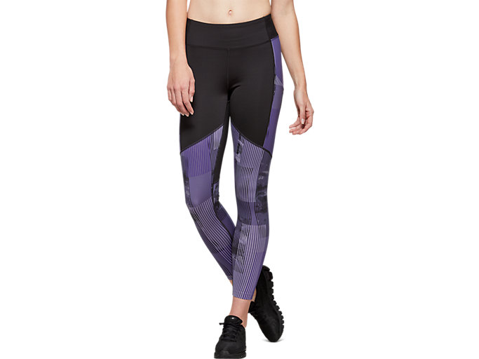 Front Top view of Printed Train Legging