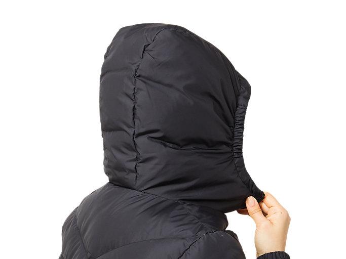 Alternative image view of W'S ダウンジャケット, パフォーマンスブラック