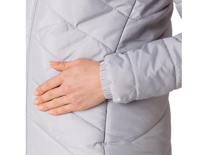 Alternative image view of W'S インシュレーションジャケット, ミッドグレー