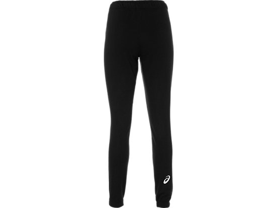ASICS BIG LOGO SWEAT PANT PERFORMANCE BLACK/BRILLIANT WH