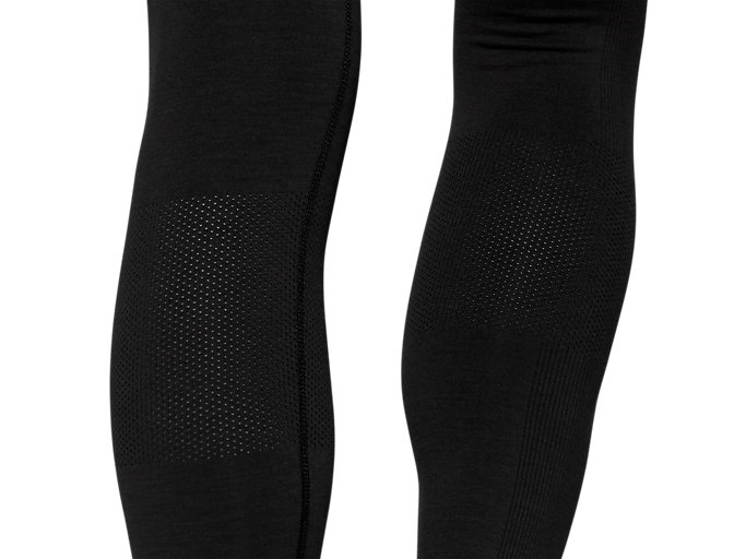 Alternative image view of W SEAMLESS CPD TIGHT, PERFORMANCE BLACK HEATHER