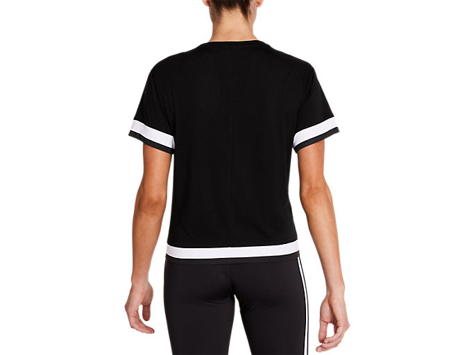 Back view of Tokyo Short Sleeve Train Top