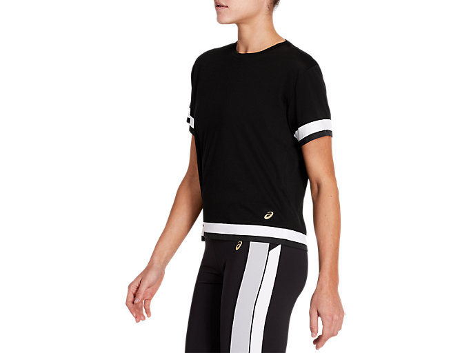Side view of Tokyo Short Sleeve Train Top