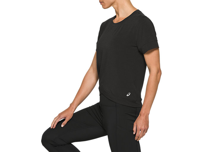 Side view of Front Fold Tee