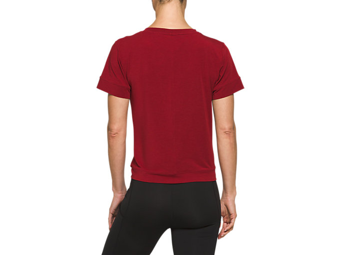 Back view of Front Fold Tee