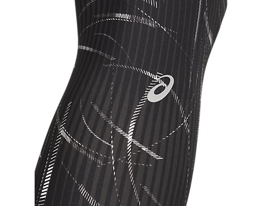 W CORE TRAIN PRINT TIGHT PERFORMANCE BLACK