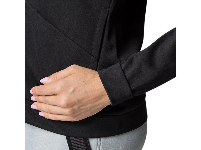 Alternative image view of W'S TOKYO ウォームアップジャケット, パフォーマンスブラック/ブリリアントホワイト