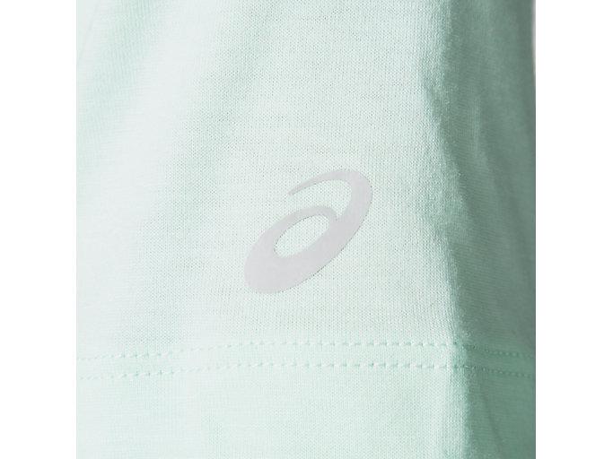 Alternative image view of W'S グラフィックショートスリーブトップ, ミントティント