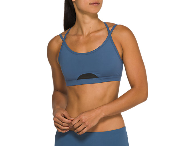 Front Top view of W NS PIPED DREAM BRA, GRAND SHARK