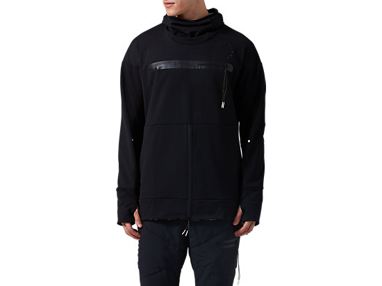 JYUNI KNIT FZ JACKET, PERFORMANCE BLACK