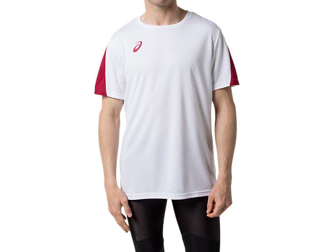 カレッジ チームTシャツ(早稲田・立命館) HS, Wホワイト