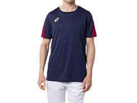 カレッジ チームTシャツ(早稲田・立命館) HS, Rネイビー