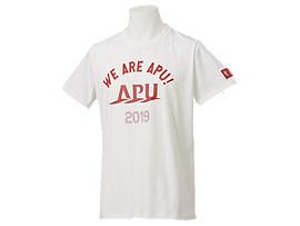 カレッジ卒業Tシャツ, APUホワイト