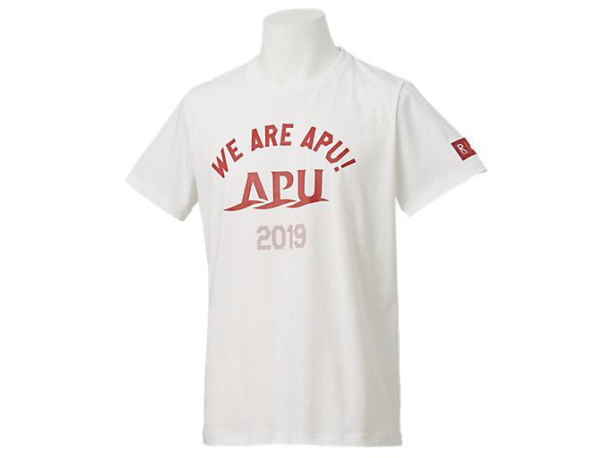 カレッジ 卒業Tシャツ(早稲田・立命館), Aホワイト