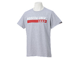 カレッジネームシャツHS, 早稲田グレー