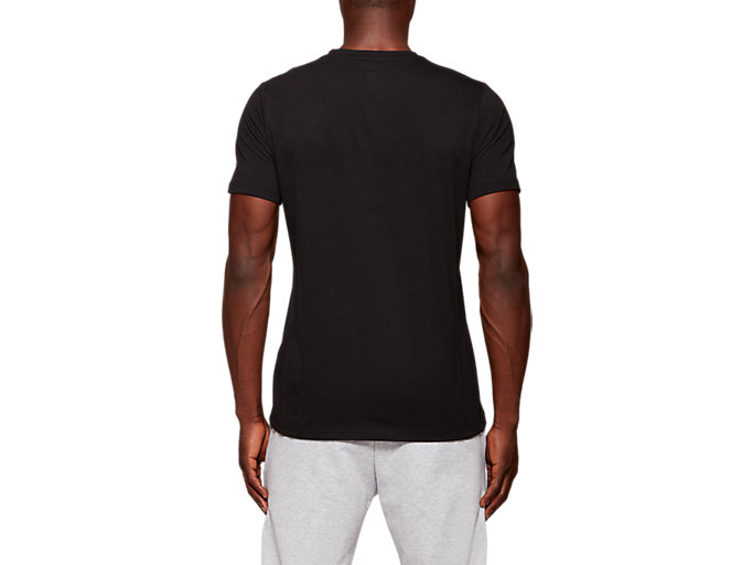 Back view of CITY SS TOP 1, PERFORMANCE BLACK