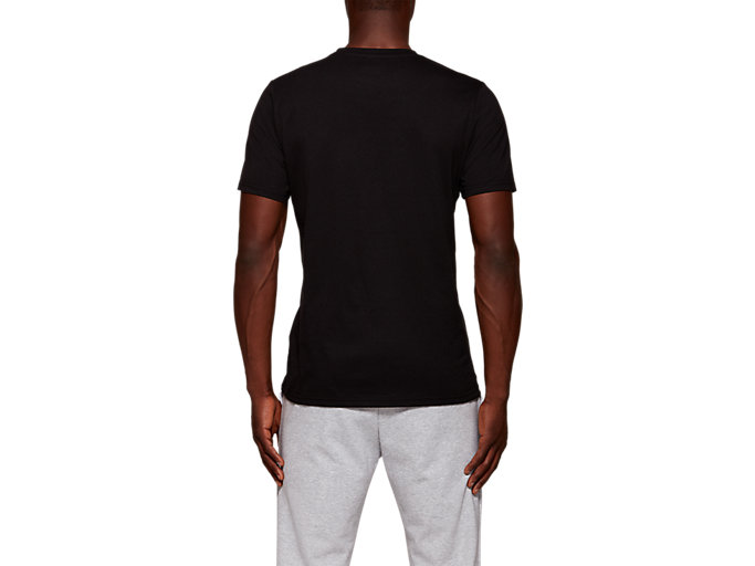 Back view of LDN CITY SS TOP, PERFORMANCE BLACK