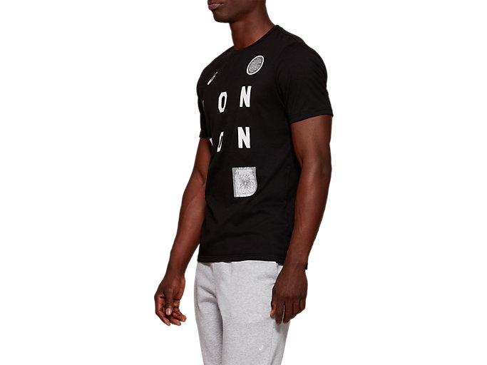 Side view of LDN CITY SS TOP, PERFORMANCE BLACK