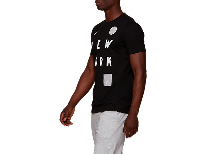 Side view of NYC Short Sleeve T-Shirt