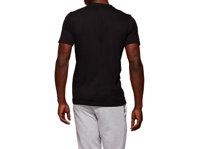 Back view of TYO CITY SS TOP, PERFORMANCE BLACK