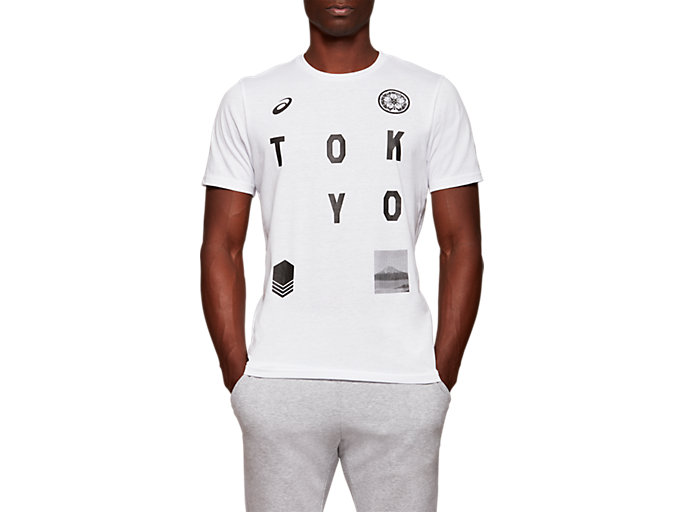 Front Top view of TYO CITY SS TOP, BRILLIANT WHITE