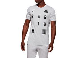 유니섹스 시티 파리 반팔 티셔츠