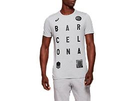 유니섹스 시티 바르셀로나 반판 티셔츠