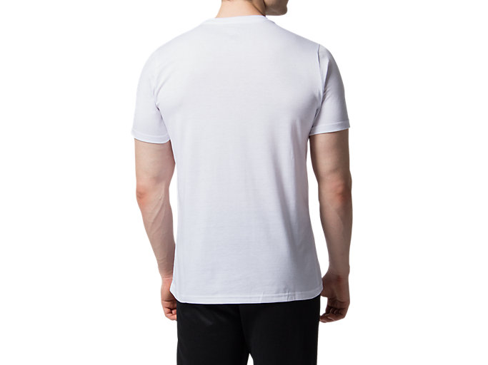 Back view of LDN CITY SS TOP 2, BRILLIANT WHITE