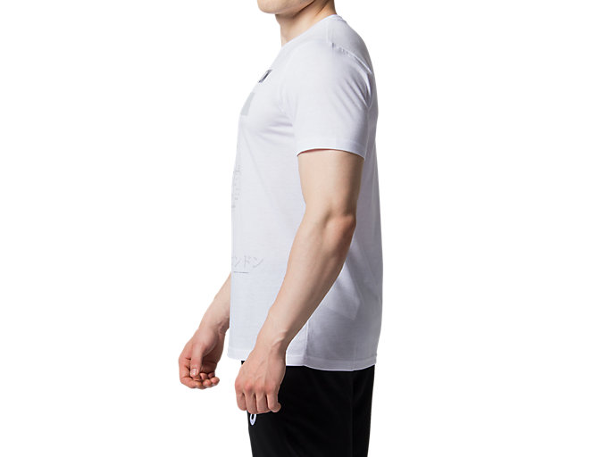 Side view of LDN CITY SS TOP 2, BRILLIANT WHITE