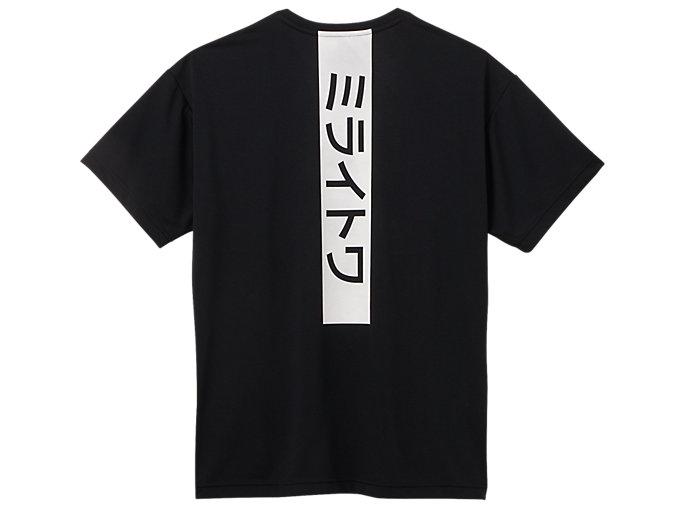 Back view of Tシャツ(東京2020オリンピックマスコット), ブラック