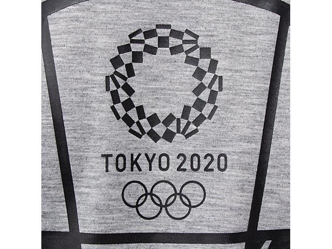 Alternative image view of Tシャツ(東京2020オリンピックマスコット), グレー杢