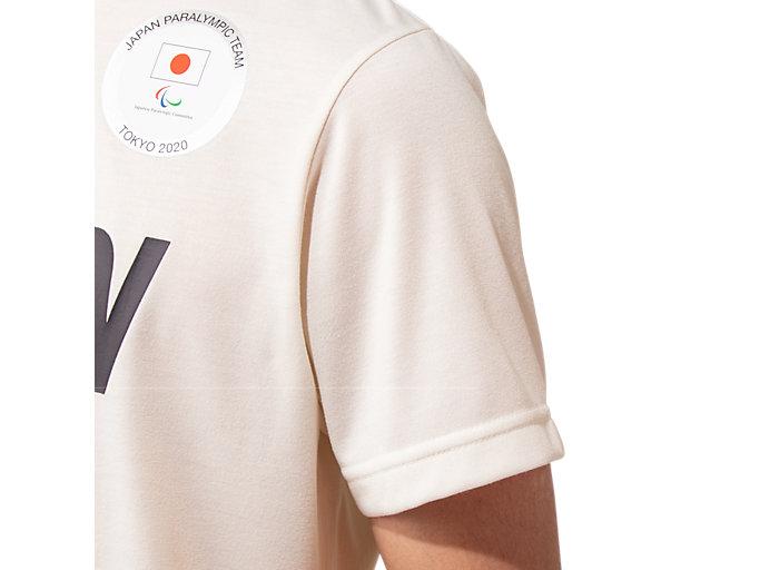Alternative image view of ロゴTシャツ(JPCエンブレム), クリーム