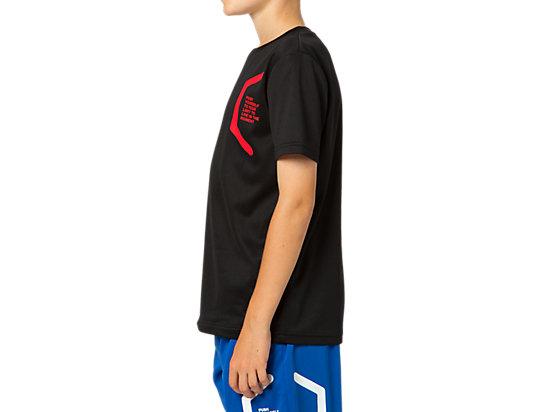 LIMO Jr.ショートスリーブシャツ, BLACK/BLACK