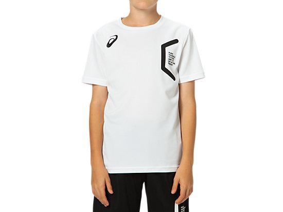 LIMO Jr.ショートスリーブシャツ, WHITE/WHITE