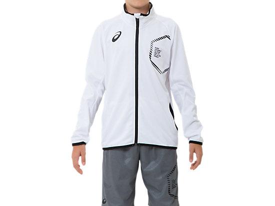 JR LIMO®ニットジャケット, ブリリアントホワイト