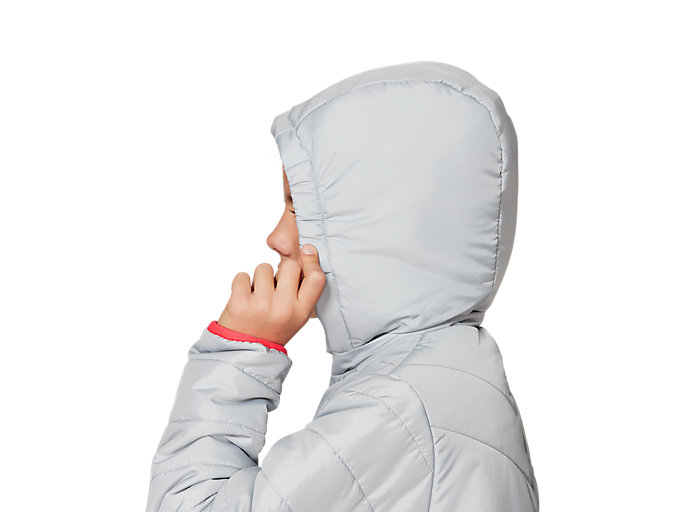 Alternative image view of G INSULATED JACKET, MID GREY