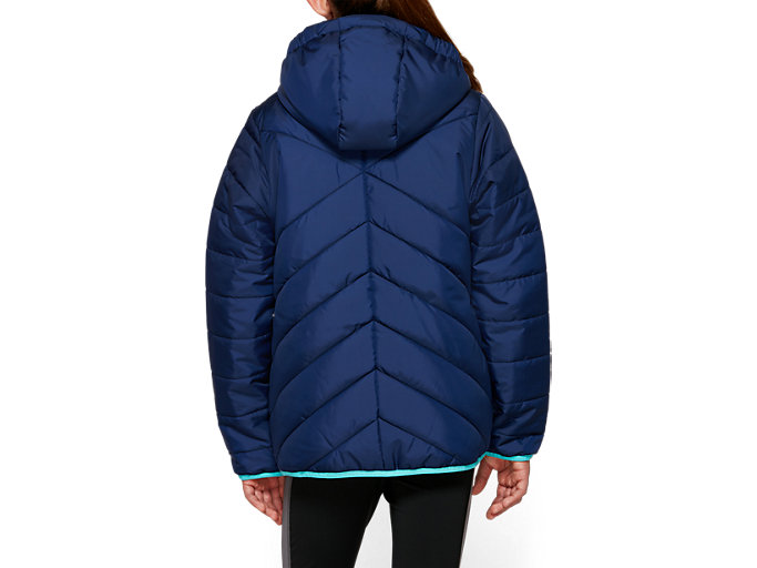 Back view of G INSULATED JACKET, PEACOAT