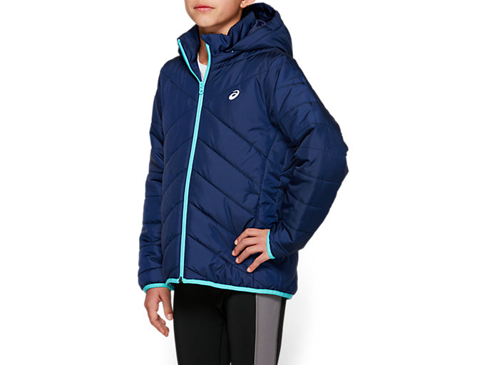 Side view of G INSULATED JACKET, PEACOAT