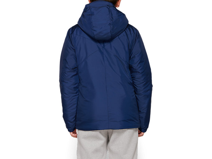 Back view of B INSULATED JACKET, PEACOAT